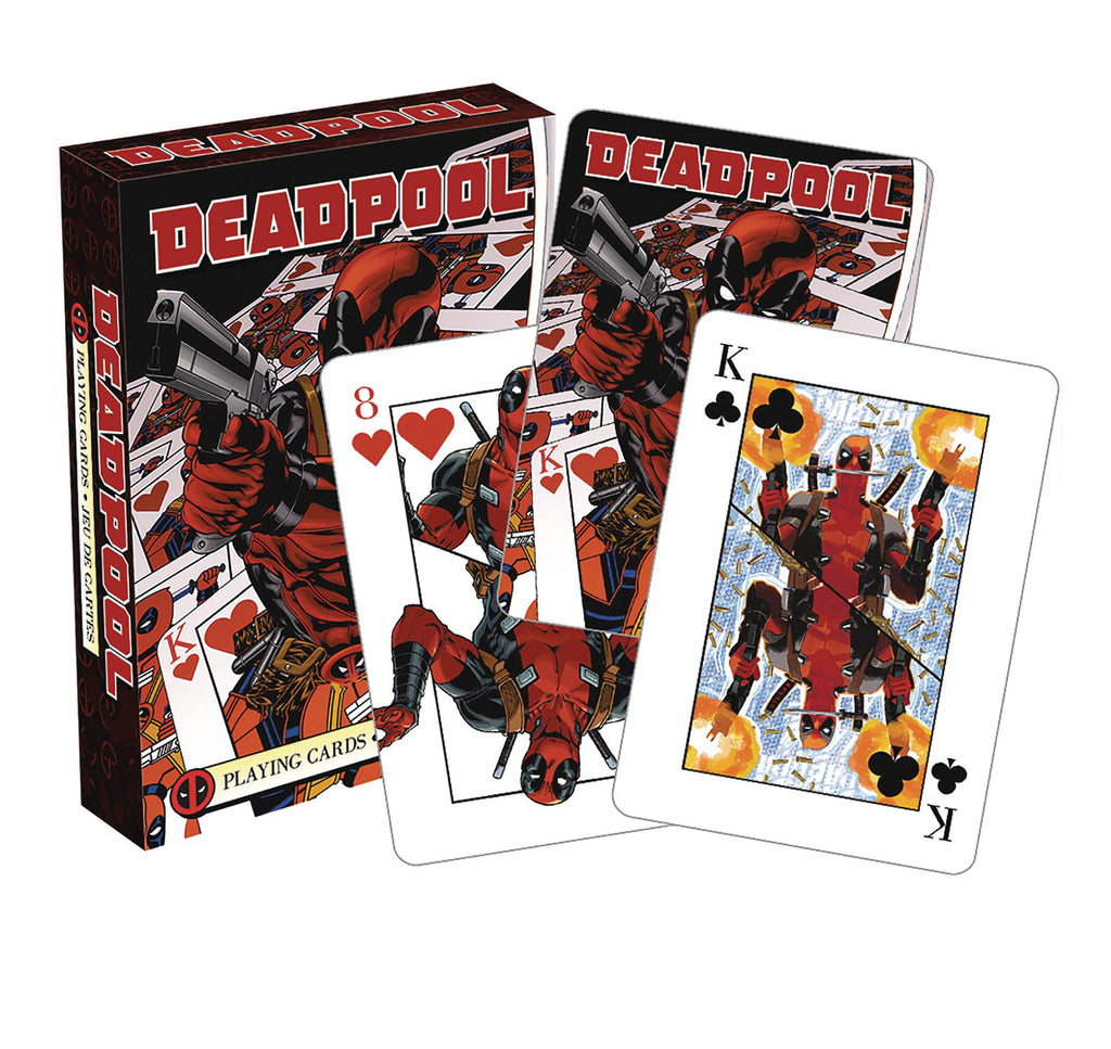 Playing Cards – Deadpool (Comics) Mirror Version Playing Cards