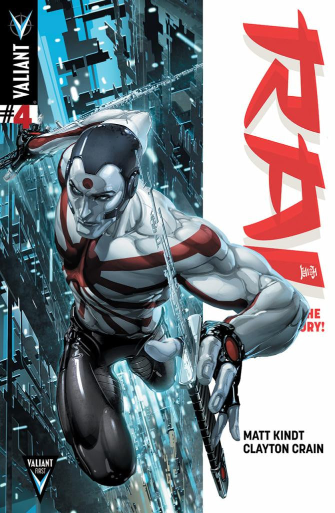 "Rai (2014 Series) #4 (Regular ""A"" Cover - Clayton Crain)"