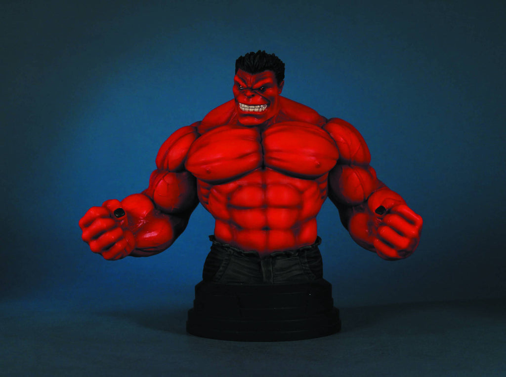 Red Hulk Gentle Giant Bust (Previews Exclusive)