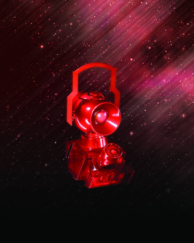 Red Lantern 1:4 Scale Power Battery & Ring Prop