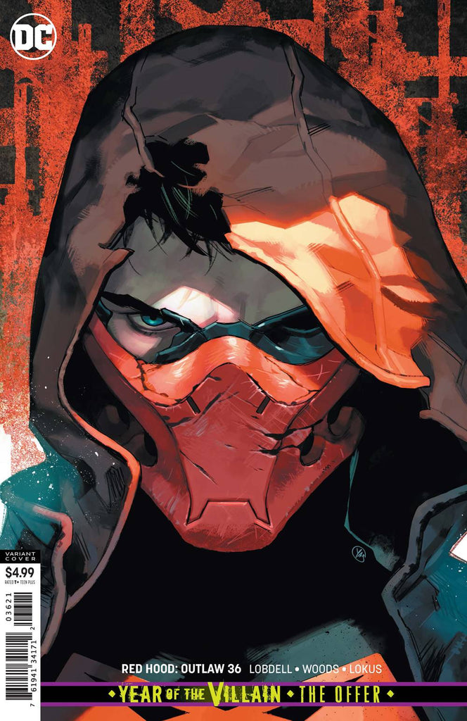 "Red Hood: Outlaw (2016 Series) #36 (Variant ""Year of the Villain"" Card-Stock Cover - Yasmin Putri)"