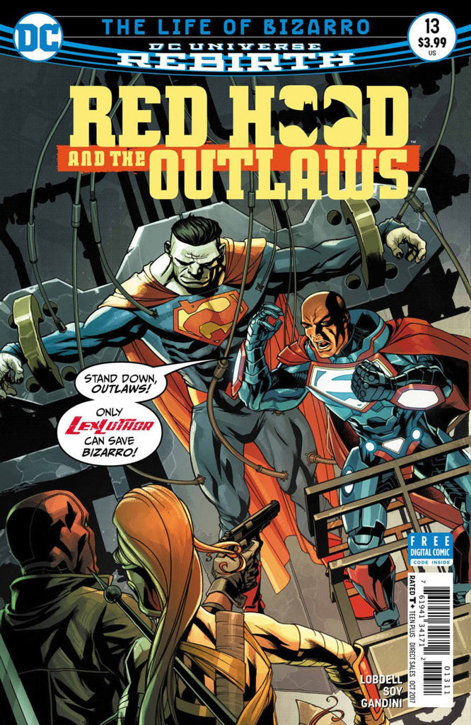 Red Hood and the Outlaws (2016 Series) #13 (Regular Cover - Mike McKone)