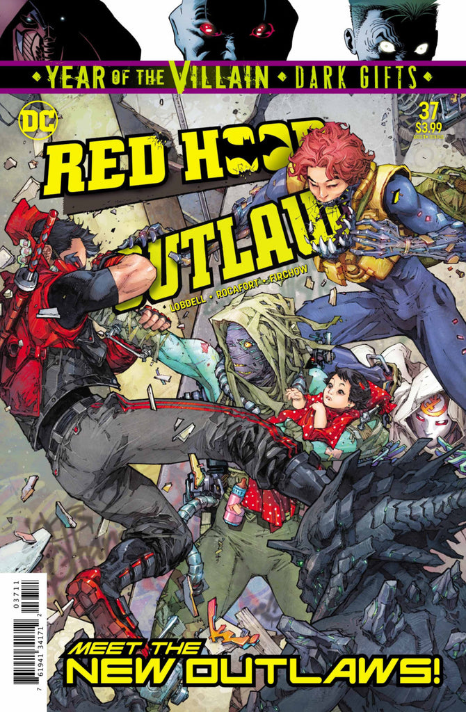 Red Hood: Outlaw (2016 series) #37-42 [SET] — Volume 03: Generation Outlaw (All Regular Covers)