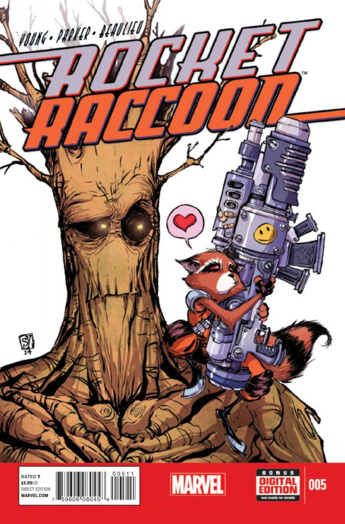 Rocket Raccoon (2014 Series) #5