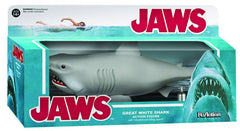 "ReAction Figure – ""Jaws"" (Film) Great White Shark 10"" Figure with Movable Jaw Biting Action!"