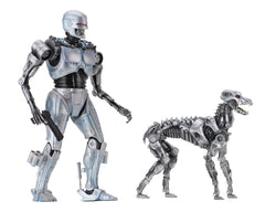 "RoboCop versus The Terminator – Endocop & Terminator Dog 7"" Figure 2-Pack Box Set"