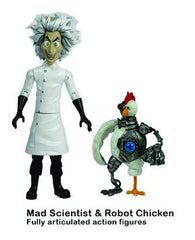 Robot Chicken (Adult Swim) – Series 1 – Mad Scientist & Robot Chicken Figures