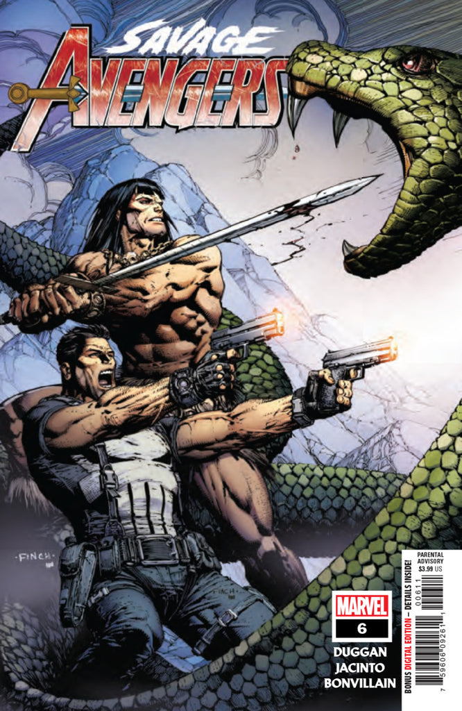 Savage Avengers (2019 series) #6 (Regular Cover - David Finch)