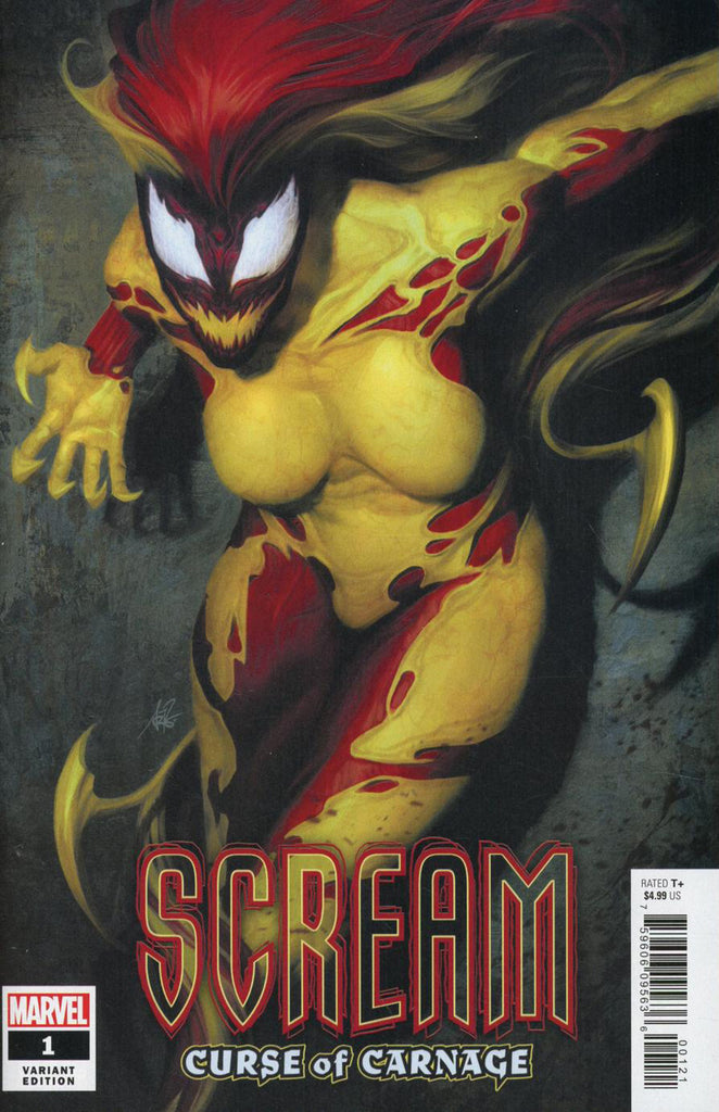 "Scream; Curse of Carnage (2019 series) #1 (Variant ""Artist"" Cover - Artgerm)"
