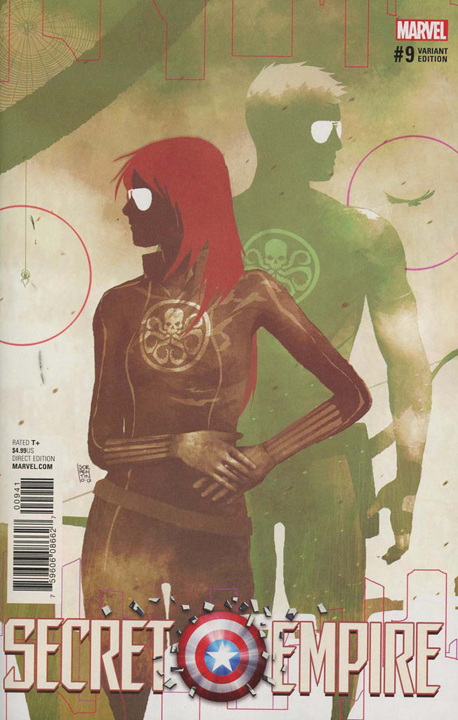 "Secret Empire (2017 Mini-Series) #9 (of 10) (Variant ""Hydra Heroes"" Cover - Andrea Sorrentino)"