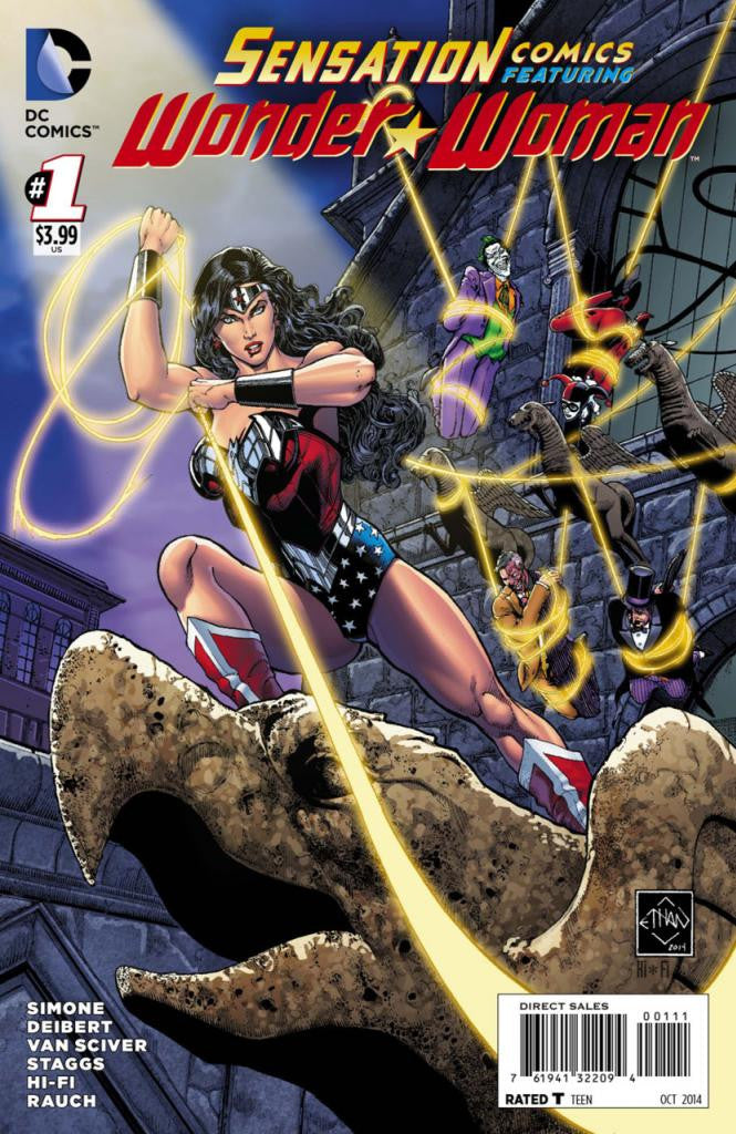Sensation Comics featuring Wonder Woman (2014 Series) #1