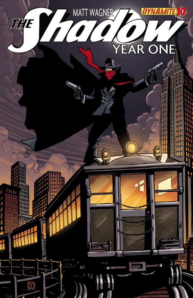 "Shadow: Year One (2012 Mini-Series) #10 (Regular ""A"" Cover - Matt Wagner)"