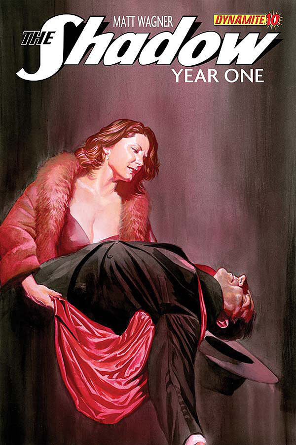 "Shadow: Year One (2012 Mini-Series) #10 (Variant ""B"" Cover - Alex Ross)"