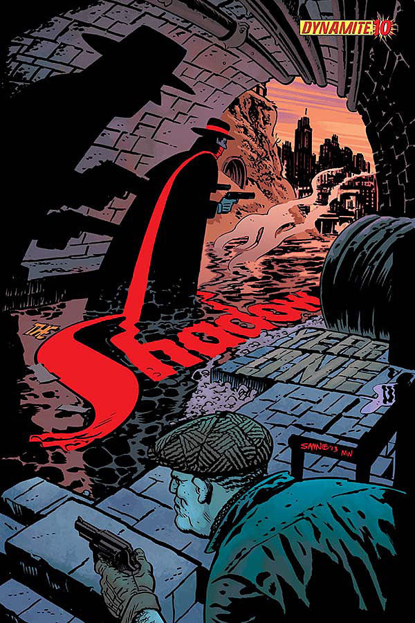 "Shadow: Year One (2012 Mini-Series) #10 (Variant ""C"" Cover - Chris Samnee)"