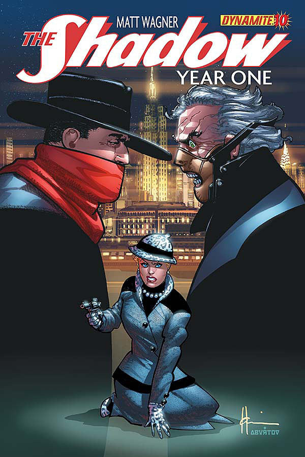 "Shadow: Year One (2012 Mini-Series) #10 (Variant ""D"" Cover - Howard Chaykin)"
