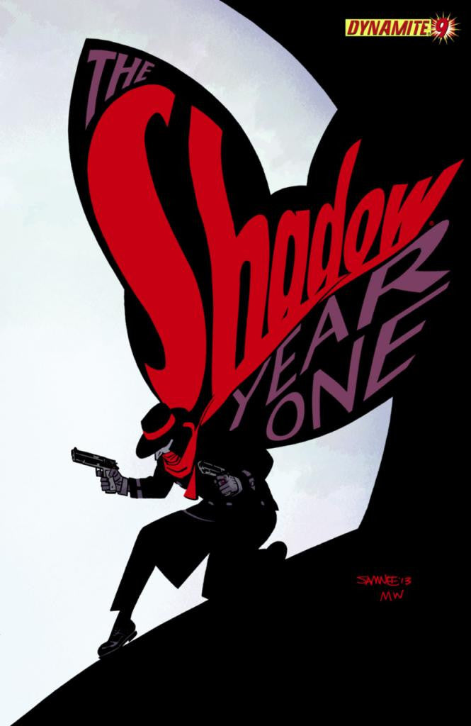 "Shadow: Year One (2012 Mini-Series) #9 (Variant ""C"" Cover - Chris Samnee)"