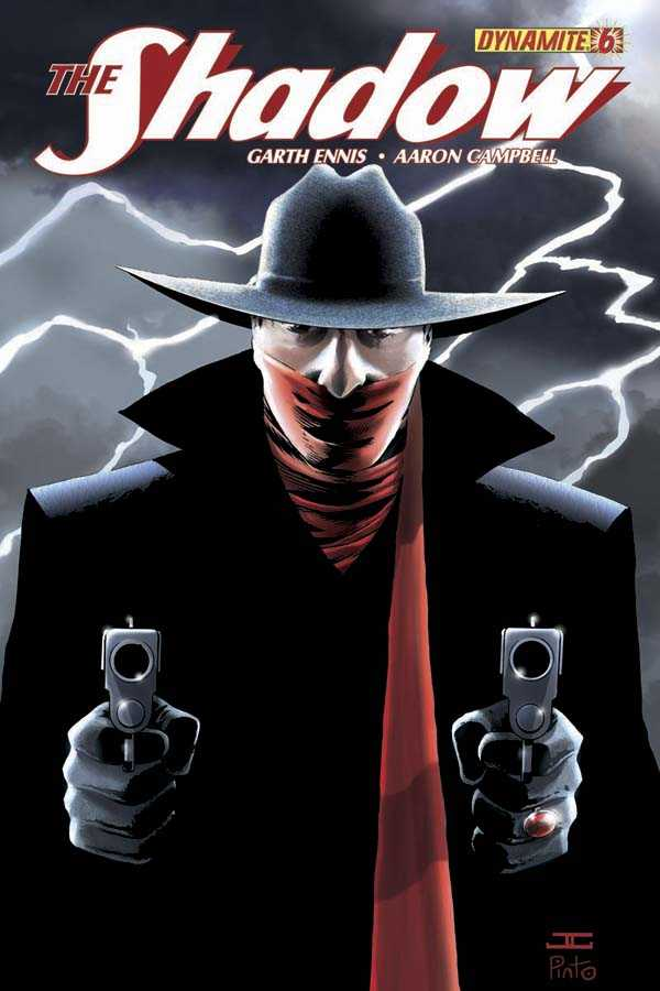 "Shadow (2012 Series) #6 Variant ""C"" Cover - John Cassaday"