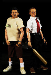 "Shaun of the Dead (Film) – Shaun & Ed 12"" Collector's Figure Set (SDCC 2008 Exclusive)"