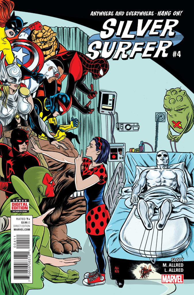 Silver Surfer (2015 series) #01-6 [SET] — Volume 04: Citizen of Earth