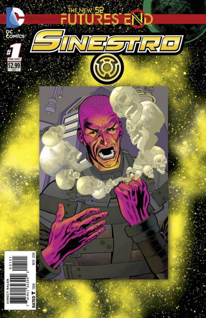 Sinestro: Future's End (2014 One-Shot) #1 (Regular Cover - Kevin Nowlan)