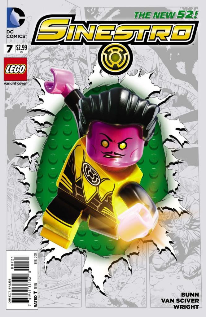 Sinestro (2014 Series) #7 (Variant Cover - LEGO)