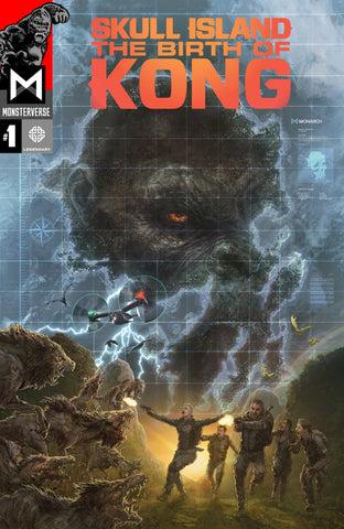 Kong (2017 mini-series) #1-4 + Gods of Skull Island [SET] — Skull Island; The Birth of Kong