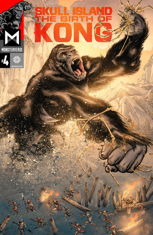 Skull Island; The Birth of Kong (2017 Mini-Series) #4 (of 4)