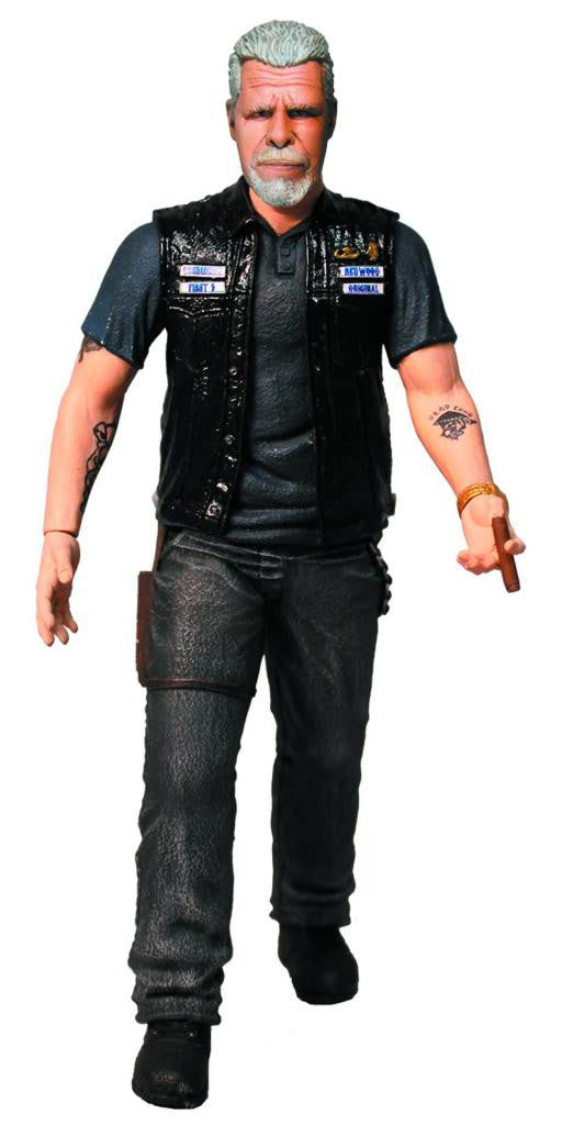 "Sons of Anarchy (TV) – Clay Morrow 6"" Figure"