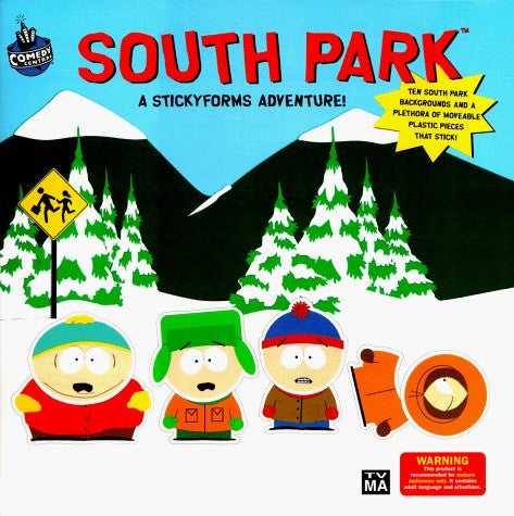 "South Park (TV) – ""Sticky Forms"" Adventure Book"