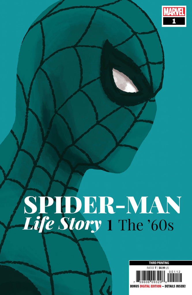 Spider-Man; Life Story (2019 mini-series) #1 (of 6) (Variant 3rd Printing Cover - Chip Zdarsky)