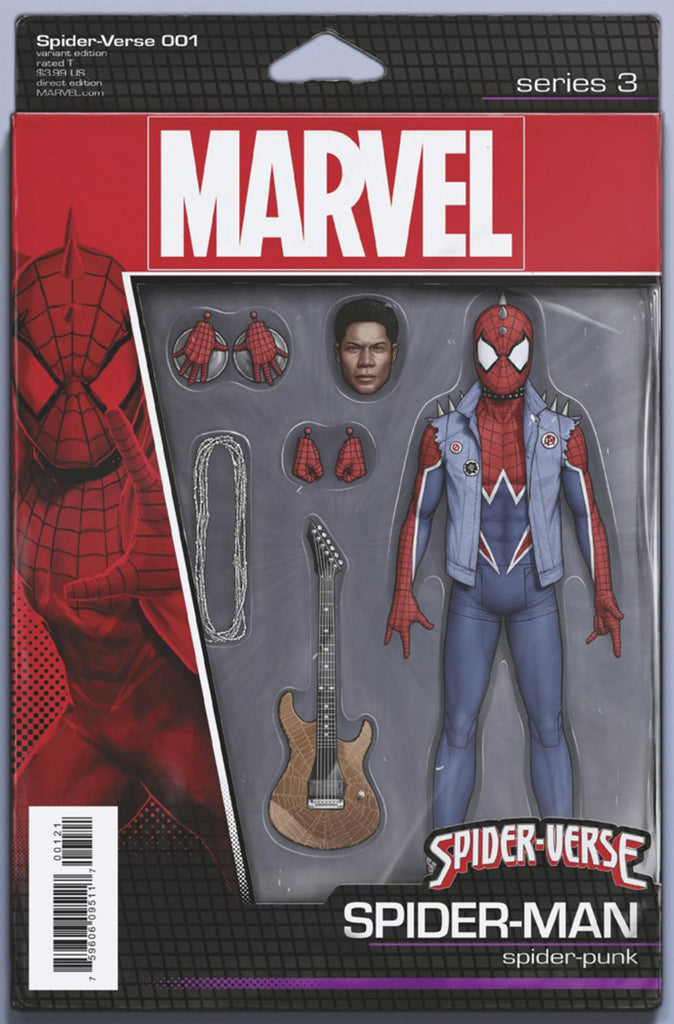 "Spider-Verse (2019 mini-series) #1 (of 6) (Variant ""Action Figure"" Cover - John Tyler Christopher)"