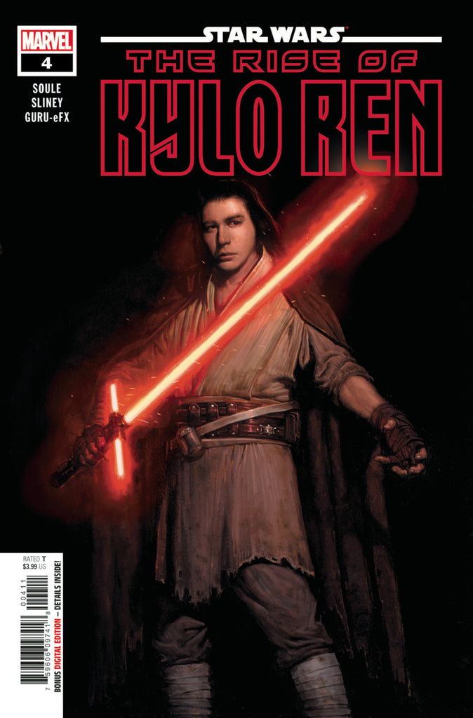 Star Wars; Rise of Kylo Ren (2019 mini-series) #4 (of 4) (Regular Cover - E. M. Gist)