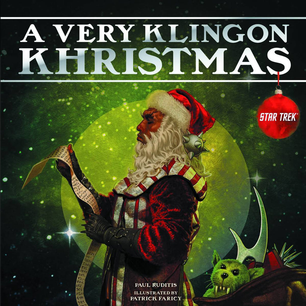"Star Trek; ""A Very Klingon Khristmas"" Hardcover (2013)"