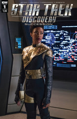 "Star Trek; Discovery (2018 mini-series) #1-4 [SET] — Volume 02: Succession (All Variant ""B"" Photo Covers)"
