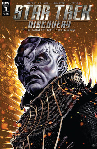 "Star Trek; Discovery (2017 mini-series) #1 (Regular ""A"" Cover - Tony Shasteen)"