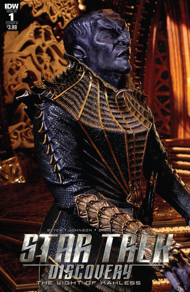 "Star Trek; Discovery (2017 mini-series) #1 (Variant ""B"" Cover - Photo)"