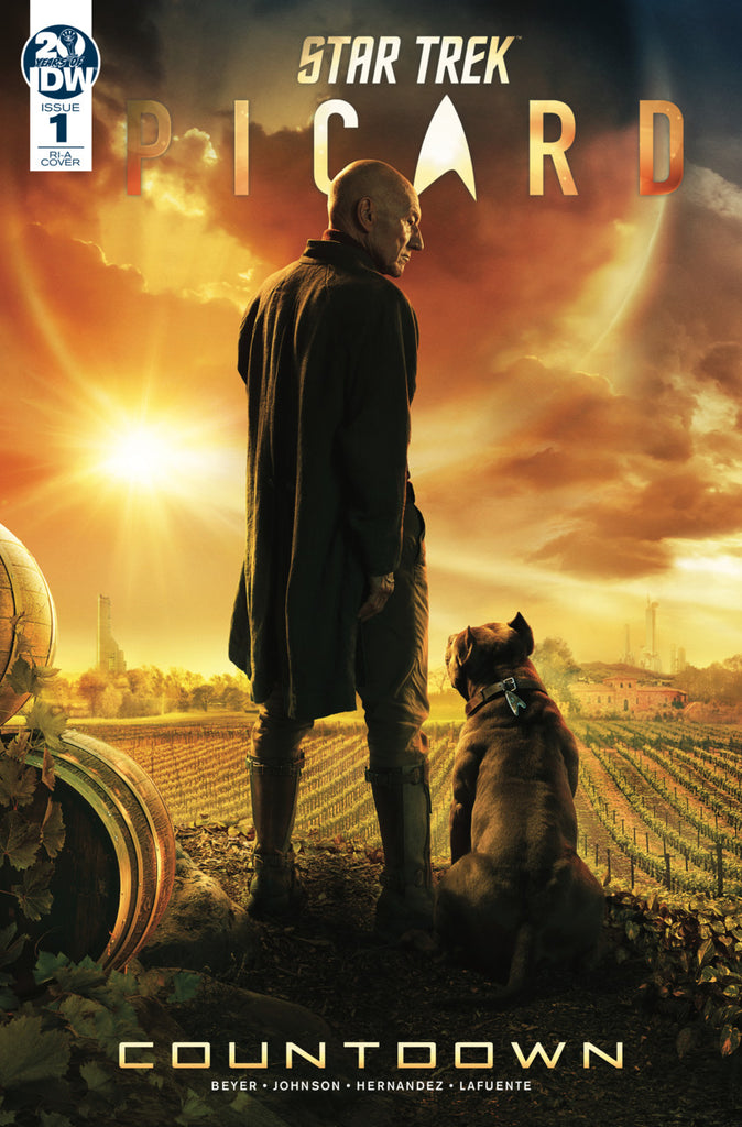 Star Trek; Picard (2019 mini-series) #1-3 [SET] — Volume 0: Countdown (All Variant Incentive Covers)