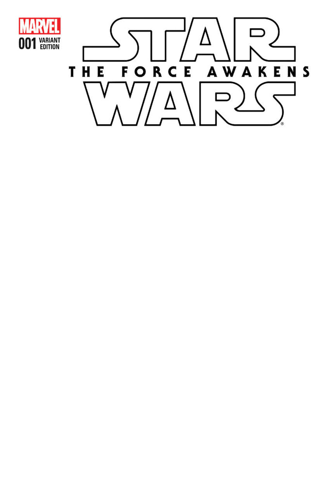 Star Wars: Force Awakens Adaptation (2016 Mini-Series) #1 (of 6) (Variant Cover - Blank)