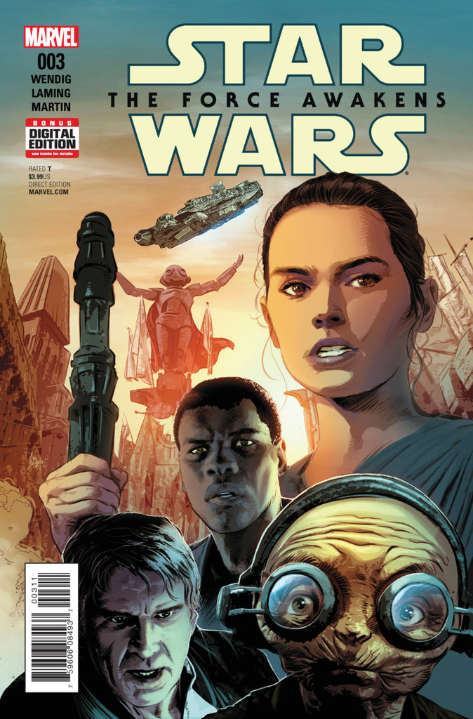 Star Wars; The Force Awakens Adaptation (2016 mini-series) #3 (of 6) (Regular Cover - Mike Deodato, Jr.)