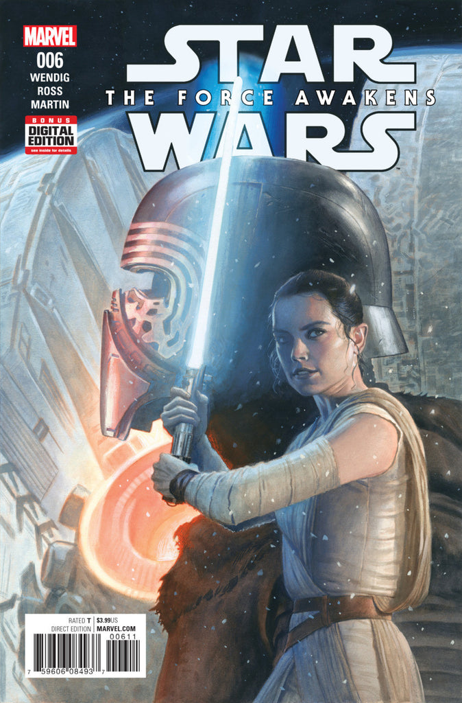 Star Wars: Force Awakens Adaptation (2016 Mini-Series) #6 (of 6) (Regular Cover - Mike Deodato)