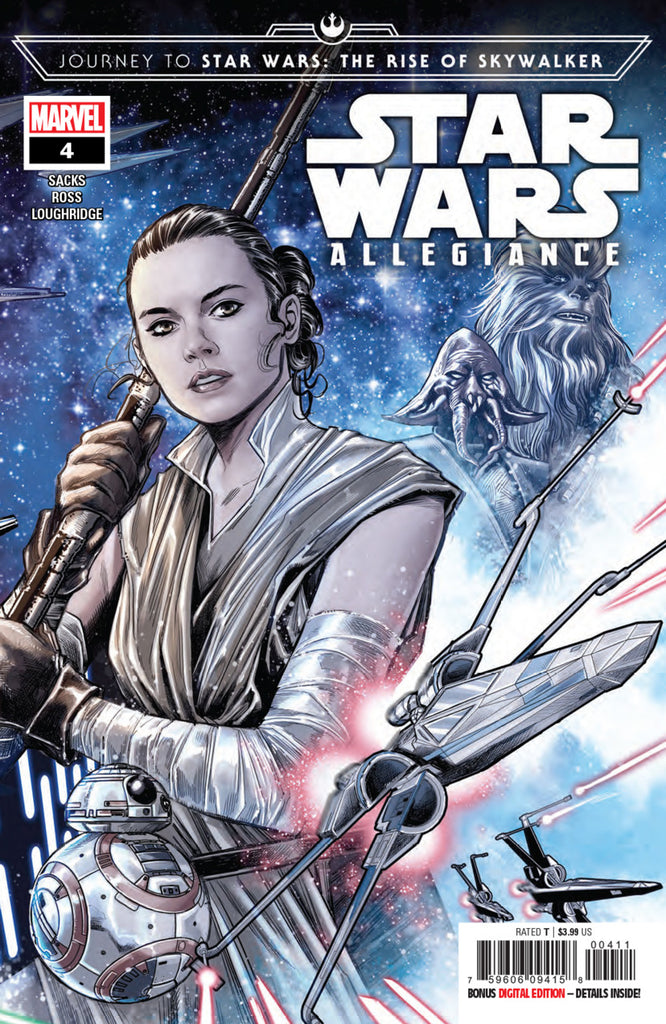 Star Wars: Journey to Episode IX; The Rise of Skywalker (2019 mini-series) Allegiance #4 (of 4) (Regular Cover - Marco Checchetto)