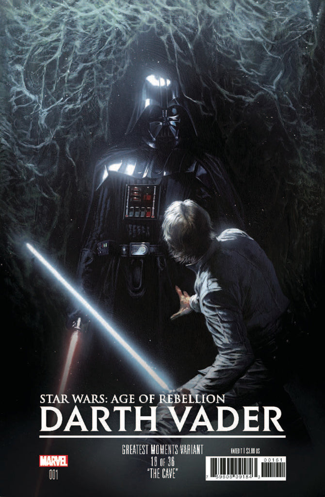 "Star Wars; Age of Rebellion - Darth Vader (2019 one-shot) #1 (Variant ""Greatest Moments"" Cover - Gabriele Dell'Otto)"