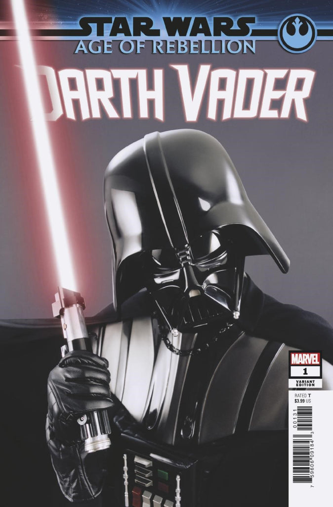 "Star Wars; Age of Rebellion - Darth Vader (2019 one-shot) #1 (Variant Incentive ""Movie"" Cover - Photo)"