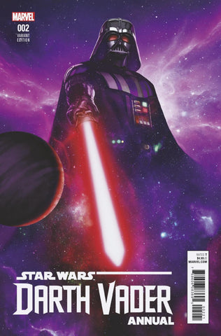 "Star Wars: Darth Vader (2017 series) Annual #2 (Variant ""Artist"" Cover - Rahzzah)"