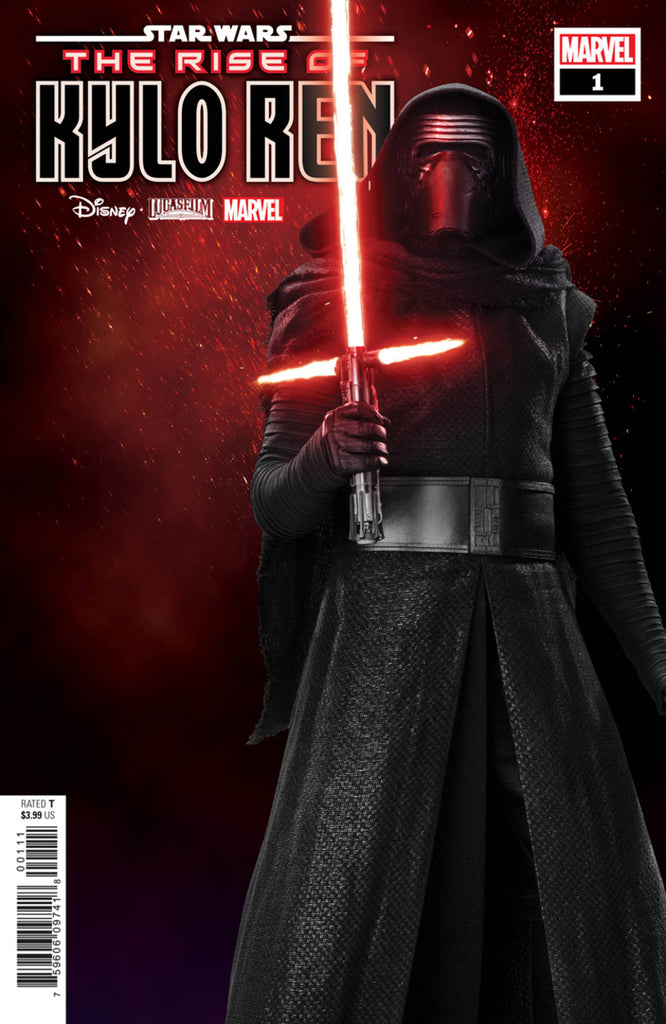 "Star Wars; Rise of Kylo Ren (2019 mini-series) #1 (of 4) (Variant Incentive ""Movie"" Cover - Photo)"