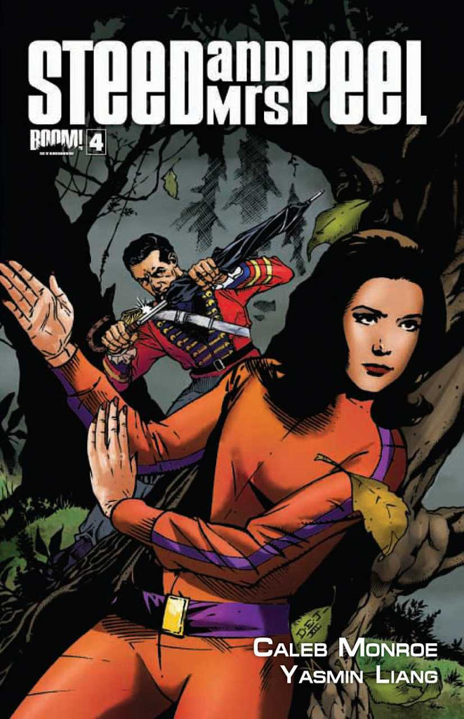 "Steed and Mrs. Peel (2012 Series) #4 (Regular ""A"" Cover - Dave Johnson)"
