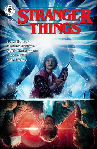 "Stranger Things (2018 mini-series) #1-4 + Ashcan [SET] — The Other Side (All Regular ""A"" Covers)"