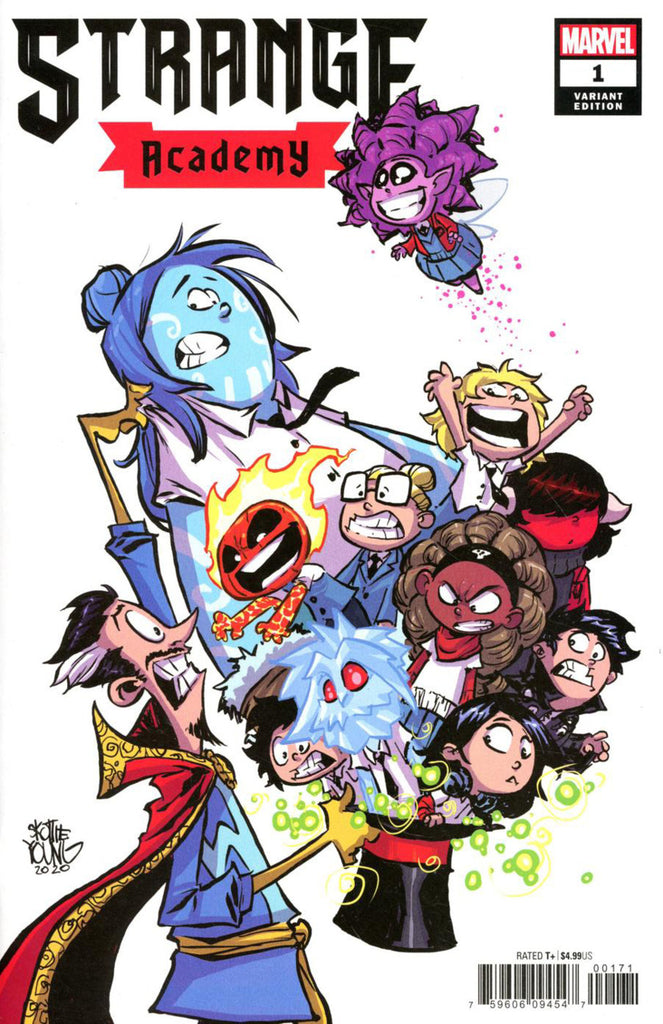 "Strange Academy (2020 mini-series) #1 (of 12) (Variant ""Baby"" Cover - Skottie Young)"