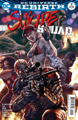 Suicide Squad (2016 series) #01-8 + Rebirth [SET] —  Volume 01: The Black Vault; The Complete Saga (All Variant Covers)