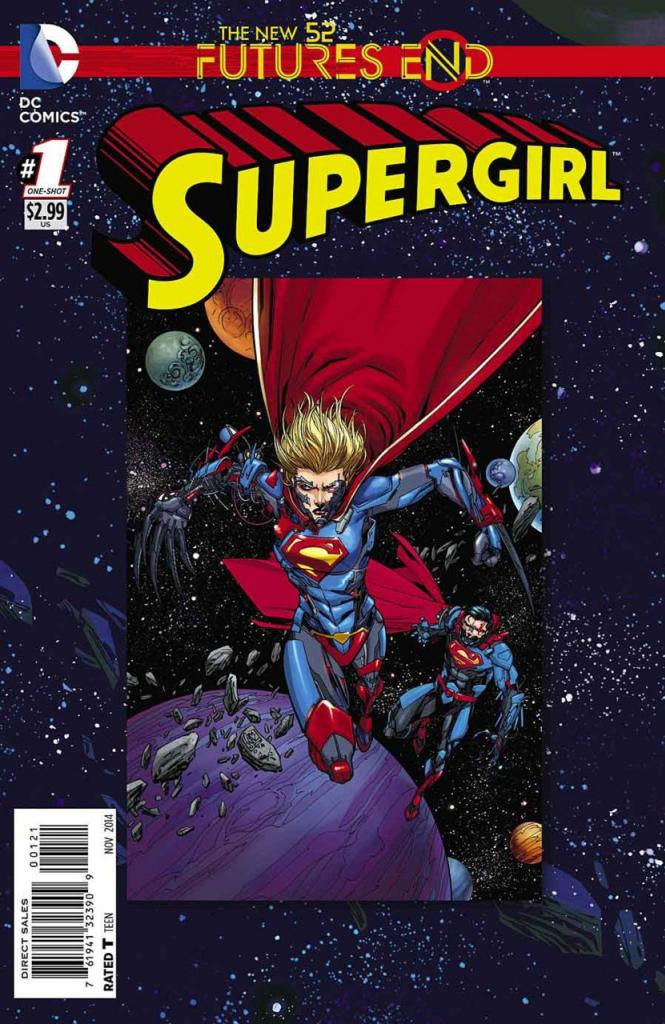 Supergirl: Future's End (2014 One-Shot) #1 (Regular Cover - Giuseppe Camuncoli)